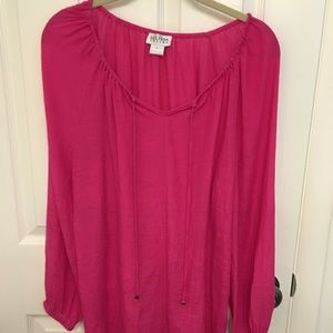 Allison Taylor Hot Pink Tunic